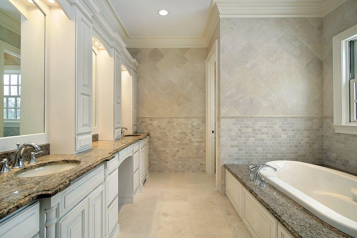 Elektrische vloerverwarming in de badkamer
