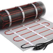 Elektrische vloerverwarming met mat