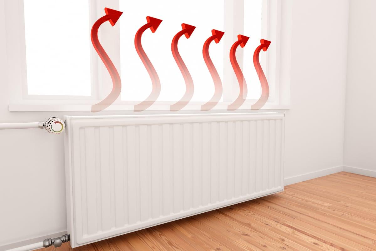 hoeveel capaciteit voor radiator