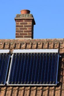 verwarmingsinstallatie zonneboiler