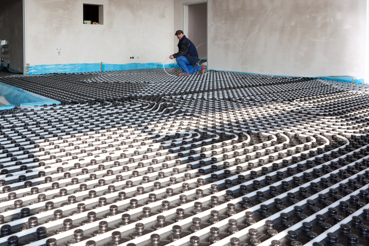 vloerverwarming renovatie